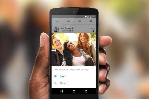 Facebook Messenger adds fast photo sharing using face recognition