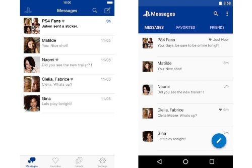 Sony releases PlayStation Messages app for iOS and Android