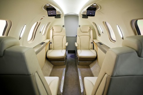 Honda is making a luxury jet with really weird engines