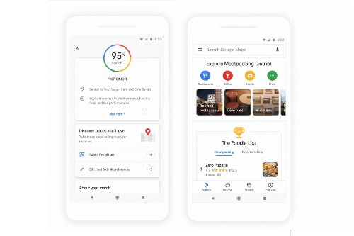 Google Maps redesigns the Explore section to make it easier to find restaurants