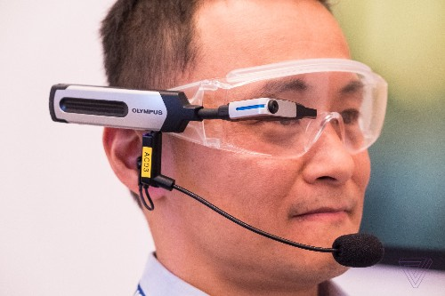 Olympus made $1,500 open-source smart glasses