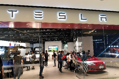 Tesla drops prices in China after the government suspends tariffs