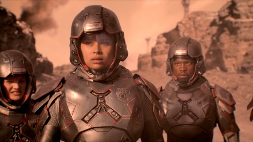 How the creators of The Expanse created the premiere's battle scenes