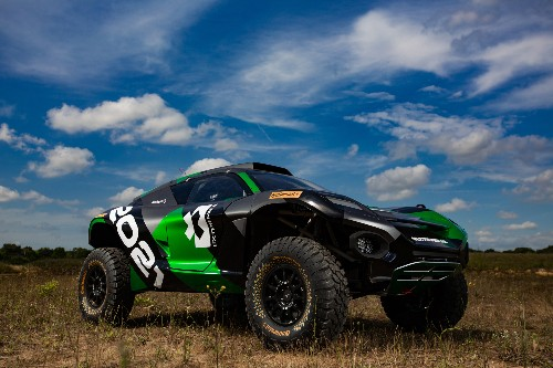 Formula E's electric off-road SUV is an absolute unit