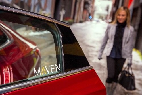 GM's new car-sharing startup, Maven, is launching in three more US cities