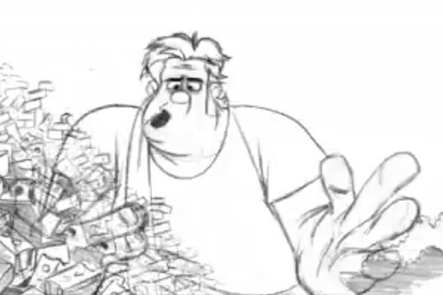 Watch this: 'Wreck-It Ralph' comes to life in hand-drawn test footage