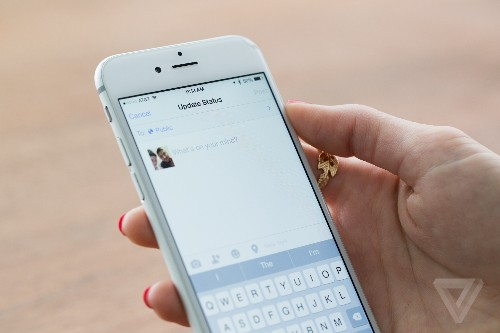 People are reportedly sharing fewer personal updates on Facebook