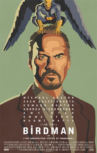 The extended 'Birdman' trailer shows the surreal life of a washed up superhero star