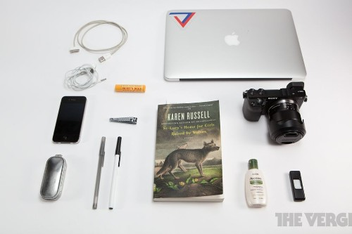 What's in your bag, Jacob Kastrenakes?