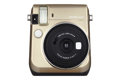 Michael Kors is releasing a branded Instax camera that isn't so bad looking