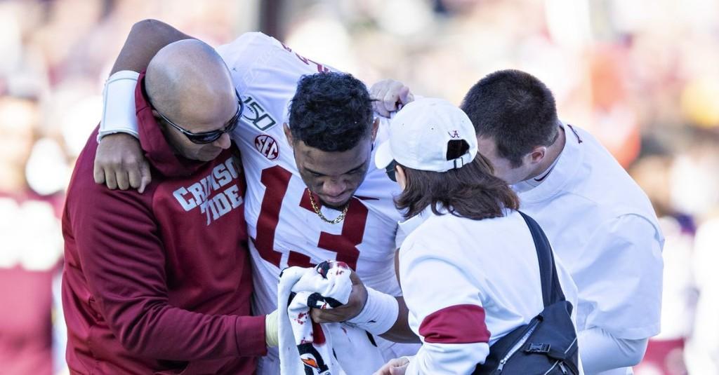 A Hip Injury Has Likely Ended Tua Tagovailoa's Masterful Alabama Career