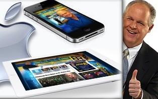 Rush Limbaugh reveals vast 'tech blogger' conspiracy against Apple, Republicans