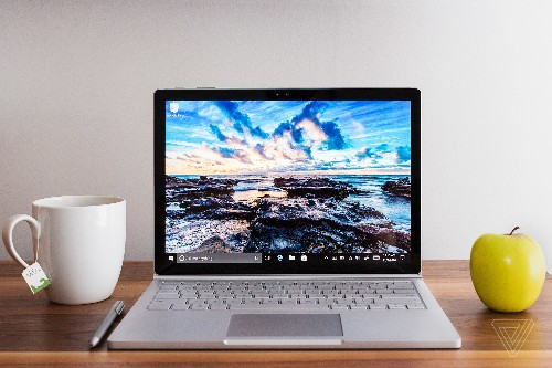 Microsoft's updated Surface Book is a big, powerful brute of a laptop