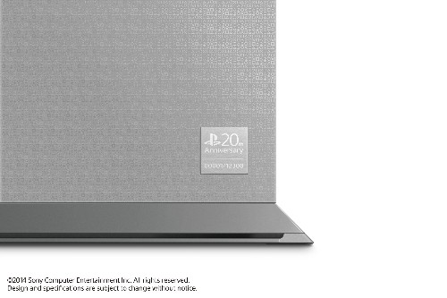 This is the gorgeous, gray 20th anniversary edition PS4