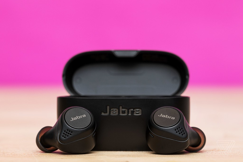 Jabra's excellent Elite 75t truly wireless earbuds are $100 refurbished at Newegg