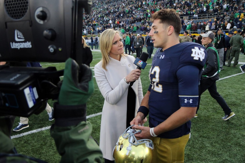 Ian Book and Notre Dame football's team leadership release a statement about their desire to play