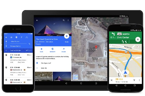 Google Maps is getting a colorful redesign for iOS and Android
