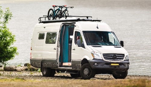 Dapper camper van combines luxury with adventure