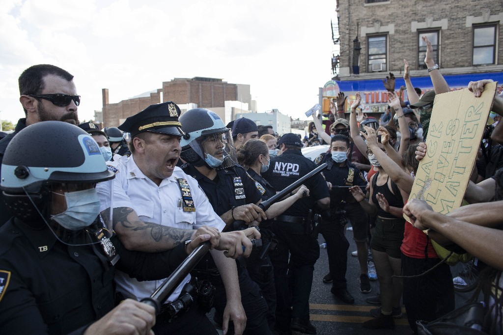 Caught on camera, police explode in rage and violence across the US