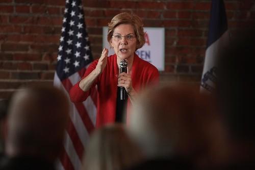 Elizabeth Warren says she wants to break up Amazon, Google, and Facebook