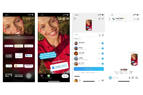 Instagram's new Stories sticker lets you ask your followers to join a new group chat