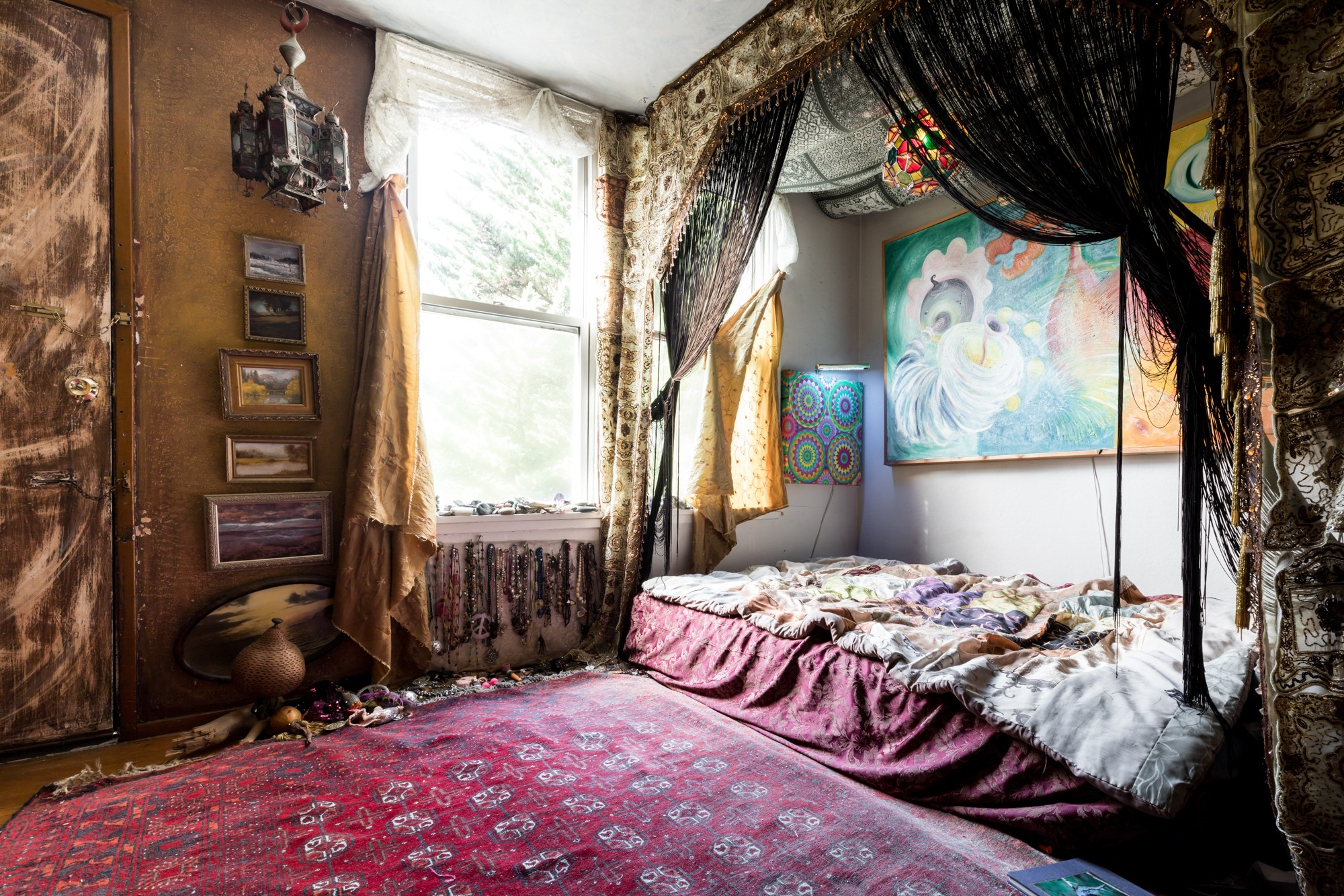 Inside an artist's maximalist Castro apartment