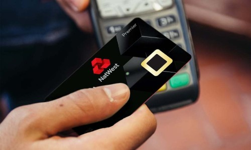 Debit card with built-in fingerprint reader begins trial in the UK