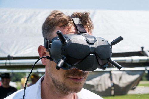 DJI's new FPV goggles and camera are for high-definition drone racing and filming