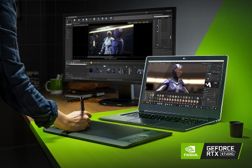 Nvidia announces RTX Studio laptops aimed at creators