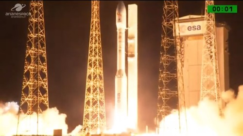 Arianespace launch failure destroys military satellite