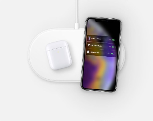 Apple AirPower image appears on the company's Australian site