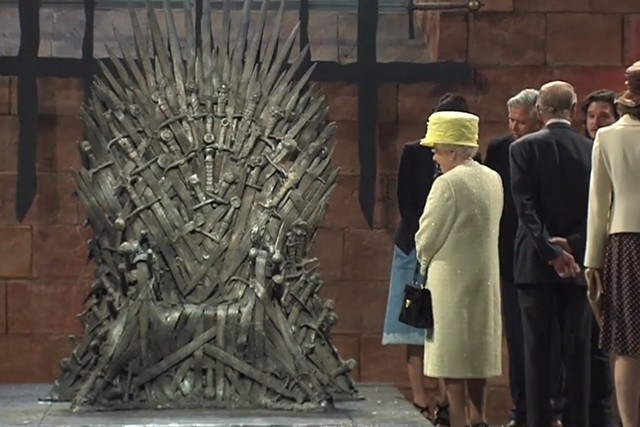 Queen Elizabeth mulls laying claim to the Iron Throne