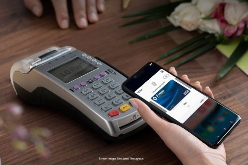 The LG G8 can now tap to pay at practically any magstripe sales terminal in the US