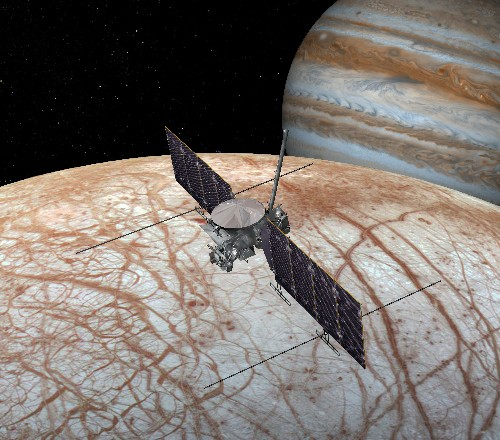 A mandate to fly NASA's mission to Europa on a delayed rocket could cost an extra $1 billion