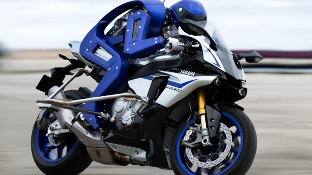 Yamaha built a motorcycle-driving robot, and it's already challenging a world champion