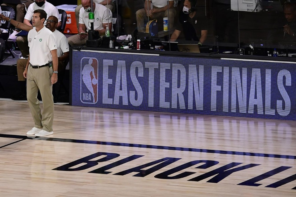 The competitive silence between Brad Stevens and Erik Spoelstra
