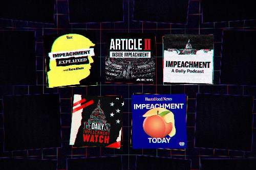 Impeachment podcasts are about more than Trump