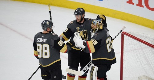 Vegas is one win from the freaking Stanley Cup Final