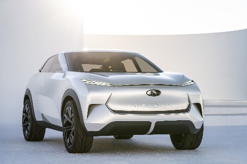 Infiniti's first all-electric car will be inspired by this flashy concept