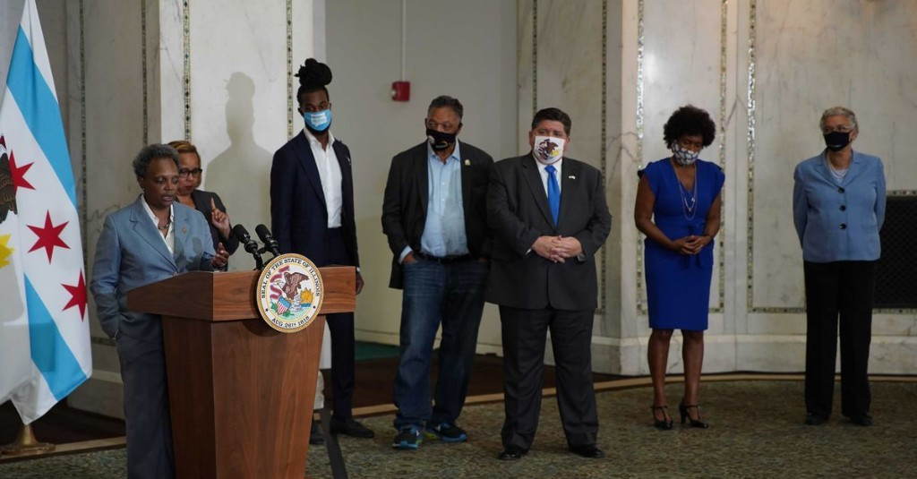 Chicago police union president says Dem pols spread 'false' Breonna Taylor narrative to boost Biden's Black support