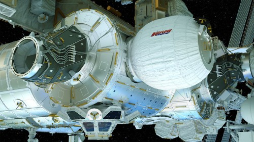 Watch NASA's second attempt at inflating the first expandable habitat on the ISS
