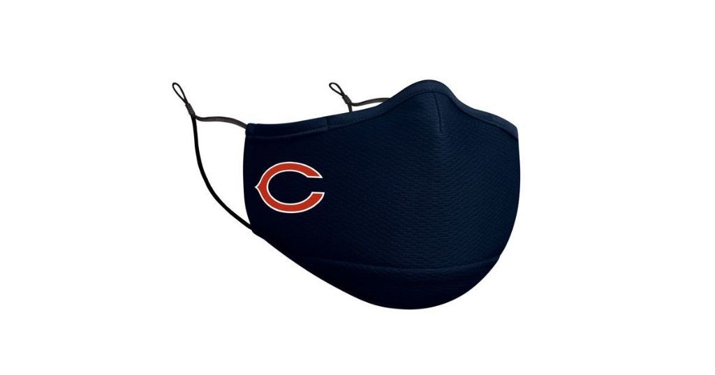 Official Chicago Bears face coverings now available