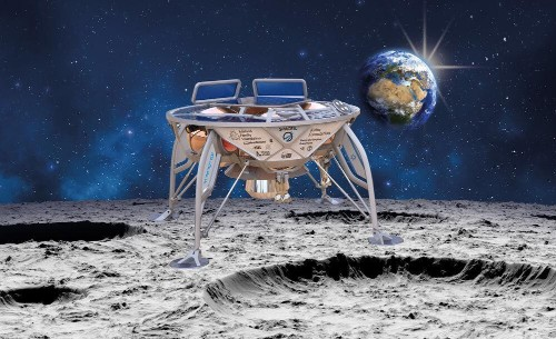 An Israeli lander is now orbiting the Moon ahead of a lunar landing next week