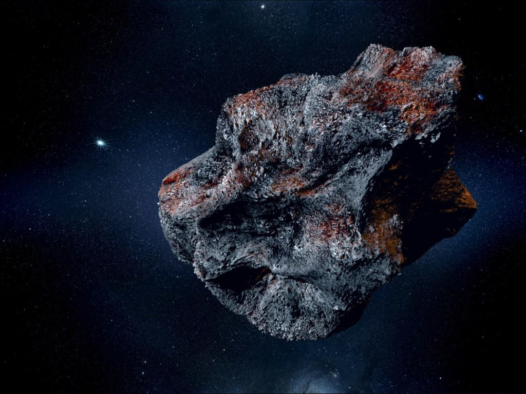 This metal asteroid could be worth $10,000 quadrillion