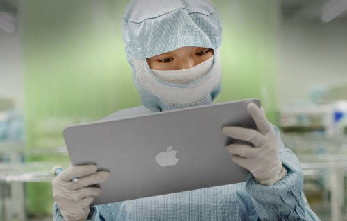 Apple claims progress on underage employment and conflict materials