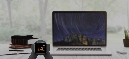 This Apple Watch charging dock is very cute