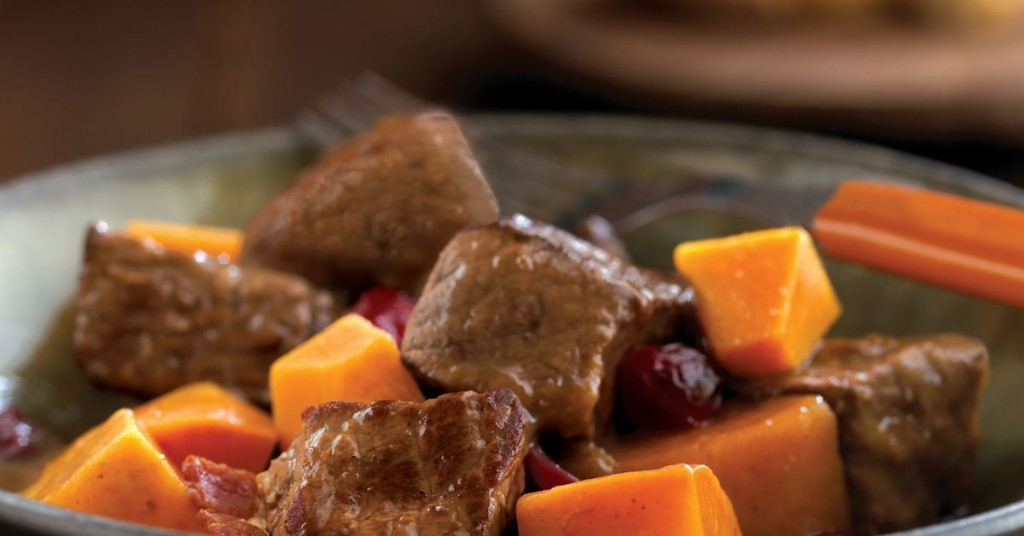 Fill up with a hearty helping of Autumn beef and cider stew