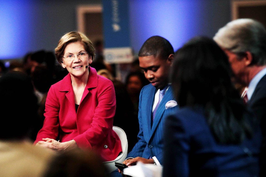 South Carolina Democratic debate: February 25, 2020 - cover