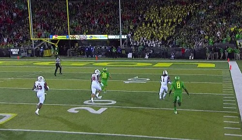 Utah faked out Oregon and everyone else on this clever punt return TD