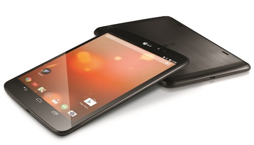 LG takes on the Nexus 7 with an 8-inch Google Play Edition tablet